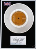 "THE SWEET - 7"" Platinum Disc  CO-CO"